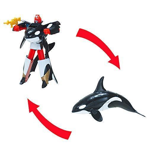 シーバトロンNext シャチ 蒼海の勇者 変形ロボット tnp-store 03