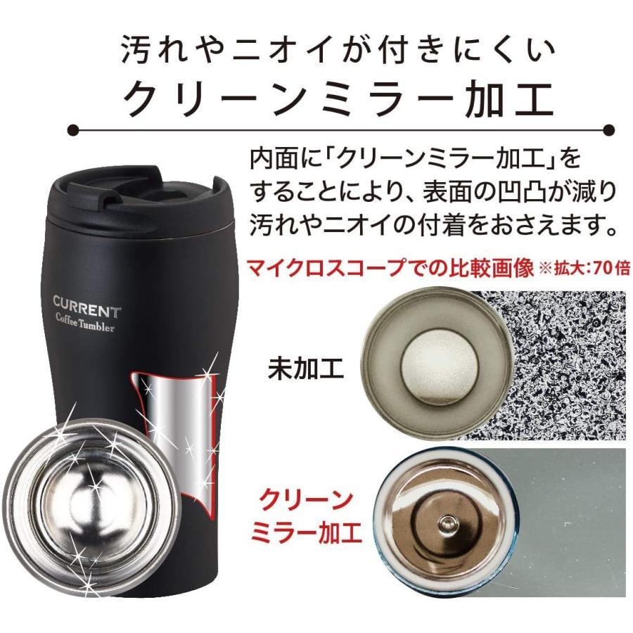 Atlas(アトラス) コーヒー Coffee CURRENT カレント 真空 断熱 2重構造 ダブル ステンレス 蓋付 カフェ タンブラー to-kia0309 09