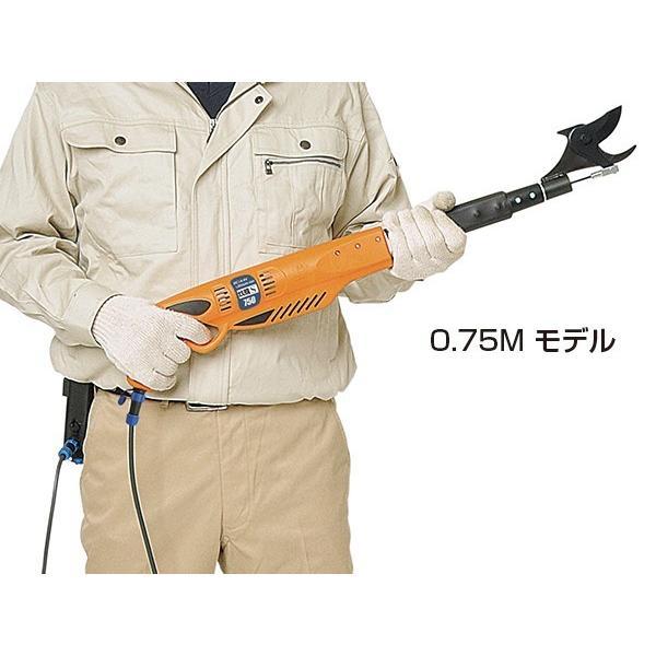 ニシガキ工業 太丸充電S1000 充電式太枝切鋏 N-921 長さ1.0m 重量1.89kg (14.4V 7.0Ahバッテリー・充電器付き)|tobeyaki|04
