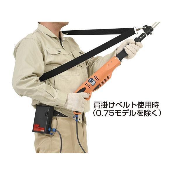 ニシガキ工業 太丸充電S1000 充電式太枝切鋏 N-921 長さ1.0m 重量1.89kg (14.4V 7.0Ahバッテリー・充電器付き)|tobeyaki|05