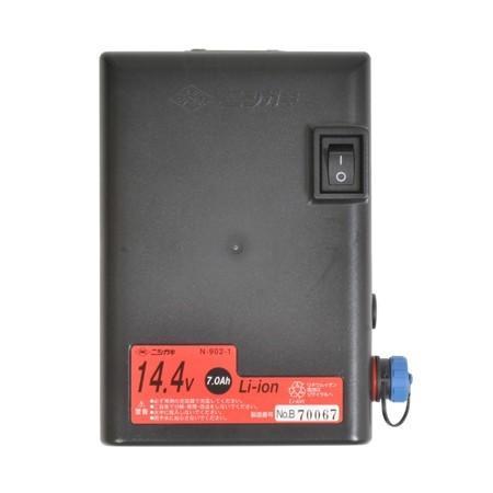 ニシガキ工業 太丸充電S1000 充電式太枝切鋏 N-921 長さ1.0m 重量1.89kg (14.4V 7.0Ahバッテリー・充電器付き)|tobeyaki|07