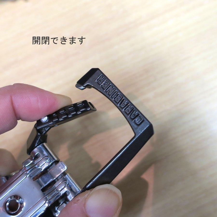 コメロン カラビナ式ベルトクリップ だけ 工具差し 作業工具|tobiwarabiueda|05