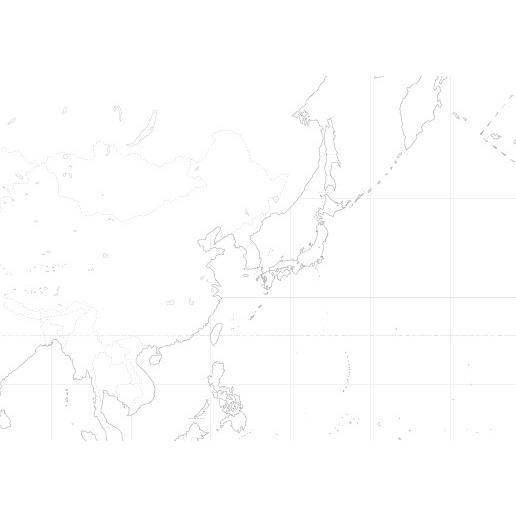 世界白地図|tobunsha-map|02