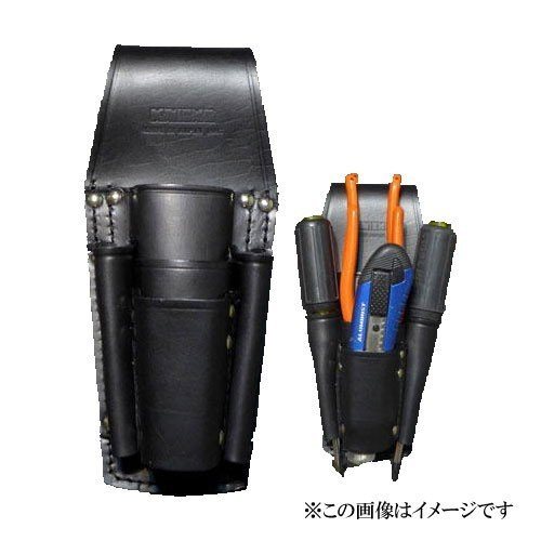 【代引き不可】KNICKS(ニックス) KB-501PLL 8・9インチペンチ・ドライバーホルダー (工具差し 工具袋 ツールホルダー)