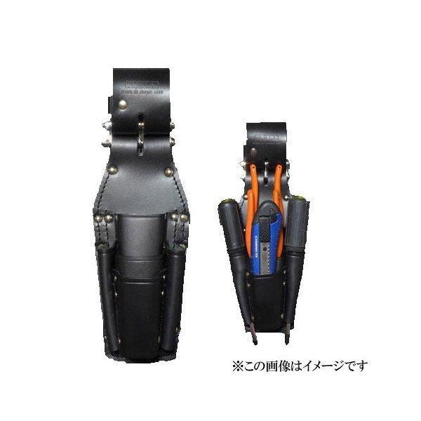 【代引き不可】KNICKS(ニックス) KB-501PLLDX チェーン式8・9ペンチ・ニッパ・ドライバーホルダー (工具差し 工具袋 ツールホルダー)
