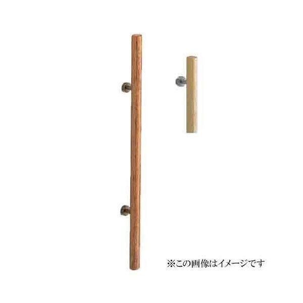 シロクマ 白熊印・ドアー取手 No.113 ウッド丸型取手 1200 仕上:ウッド・仙徳
