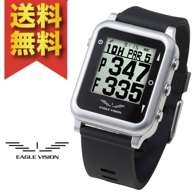 人気特価 イーグルビジョン 腕時計 watch4 ゴルフナビ EV-717 ゴルフナビ ブラック EV-717 腕時計, 琴浦町:136fb22b --- airmodconsu.dominiotemporario.com