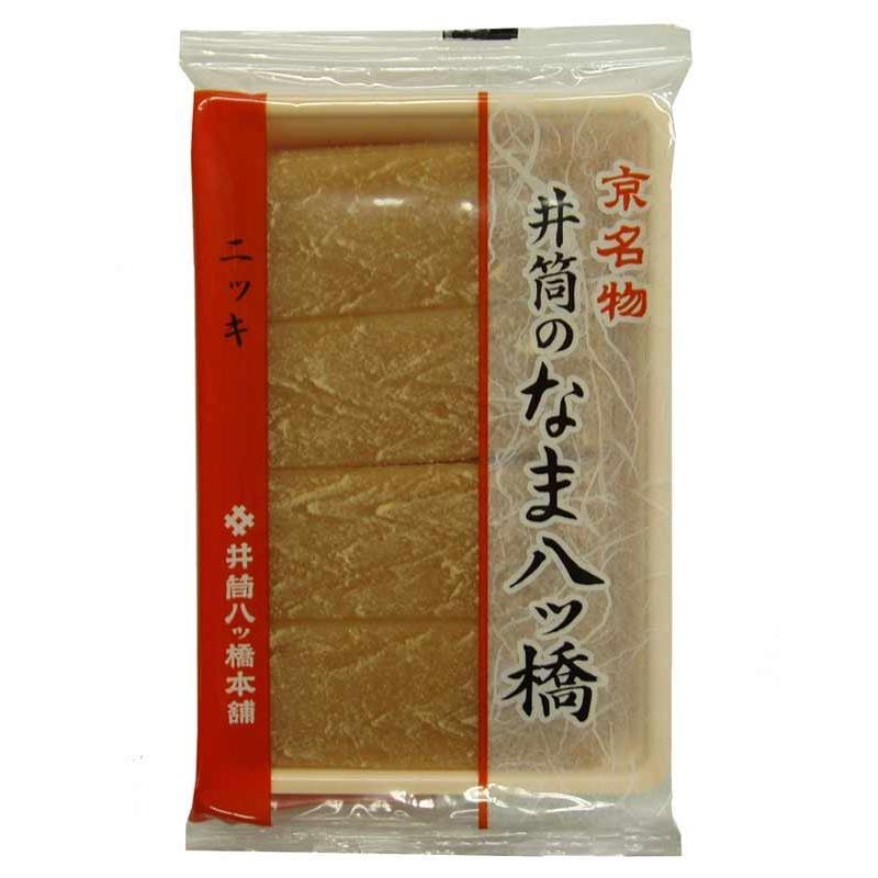 井筒のなま八ツ橋 ニッキ(28枚入/簡易包装) 京都名産 お土産 togetsukyo