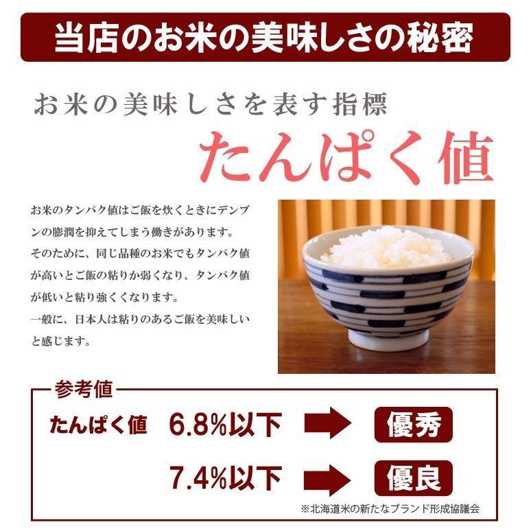 送料無料  令和2年産 北海道米 安心 安全 特別栽培米 お米 当麻  とっときドリーム(特別栽培 ゆめぴりか 100%) 5kg 米 ギフト 祝い 贈り物|tohma-greenlife|05