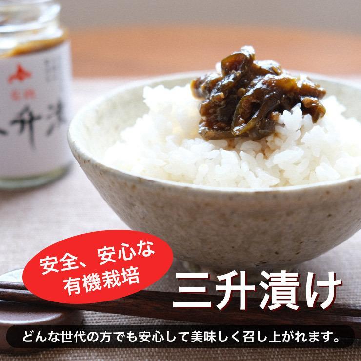 北海道 当麻 有機JAS 三升漬 ご飯のお供 ギフト 祝い  お中元 ギフト お祝い 贈り物 tohma-greenlife 05