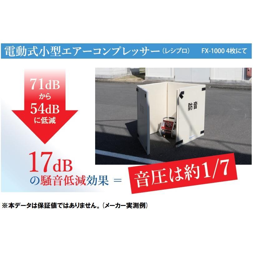 ハニカム防音パネル テクセルSAINT FX-1000 tohmei 05
