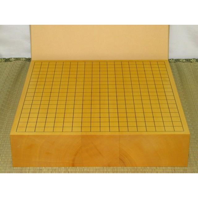 碁盤/本榧柾目三寸卓上碁盤(G134)