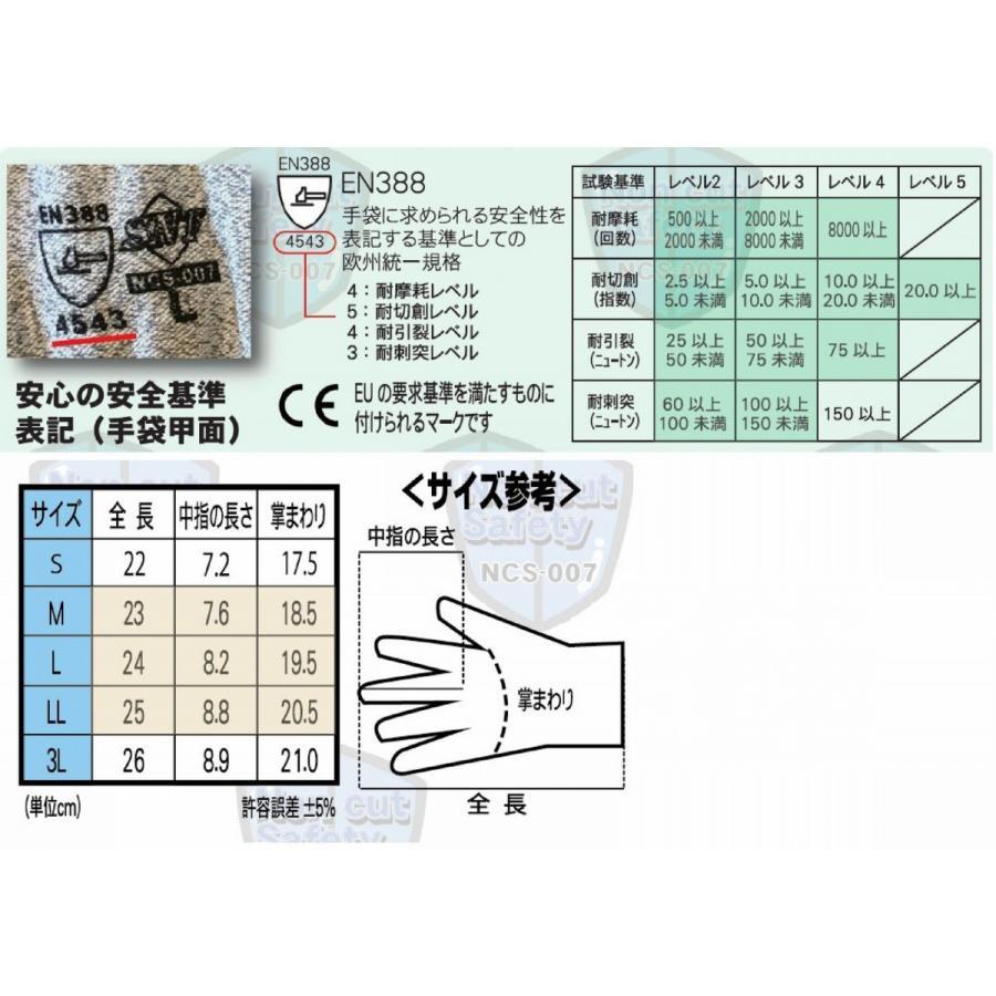 LV5耐切創グローブ NCS-007|toka-store|03