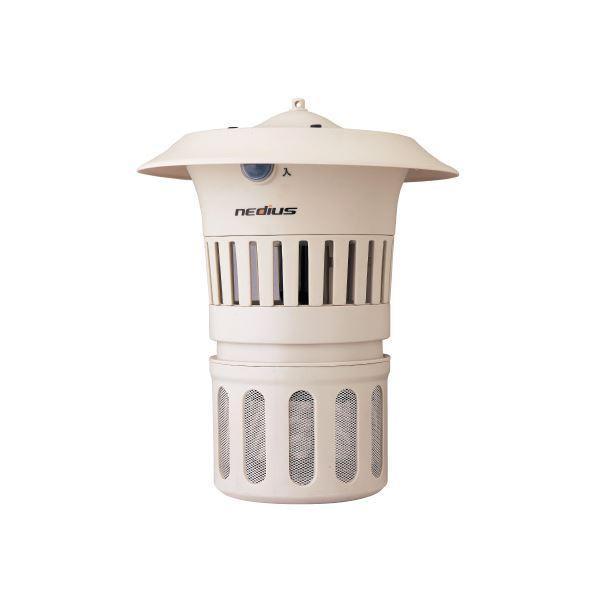 (まとめ)スイデン 吸引式捕虫器 防雨型 NMT-15B1LG〔×5セット〕