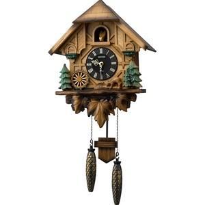 リズム【お取寄せ品の為、代引き不可】リズム時計製 掛時計「カッコーティンバー」4MJ423SR06