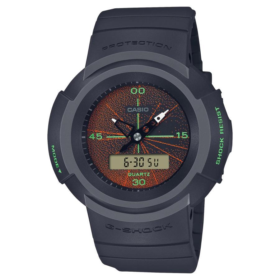 G-SHOCK ジーショック AW-500MNT-1AJR アナログ×デジタルコンビモデル MUSIC NIGHT TOKYO ダークグレー 腕時計 CASIO カシオ|tokei-akashiya