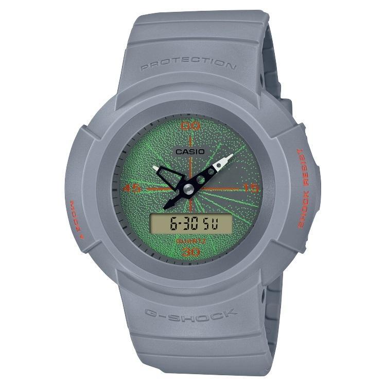 G-SHOCK ジーショック AW-500MNT-8AJR アナログ×デジタルコンビモデル MUSIC NIGHT TOKYO ライトグレー 腕時計 CASIO カシオ|tokei-akashiya