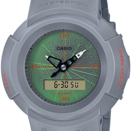 G-SHOCK ジーショック AW-500MNT-8AJR アナログ×デジタルコンビモデル MUSIC NIGHT TOKYO ライトグレー 腕時計 CASIO カシオ|tokei-akashiya|02