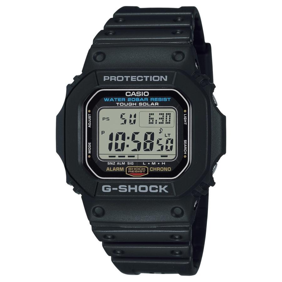 G-SHOCK ジーショック G-5600UE-1JF タフソーラー スクエアモデル フルオートLEDライト ブラック メンズ 腕時計 ウレタンバンド CASIO カシオ tokei-akashiya