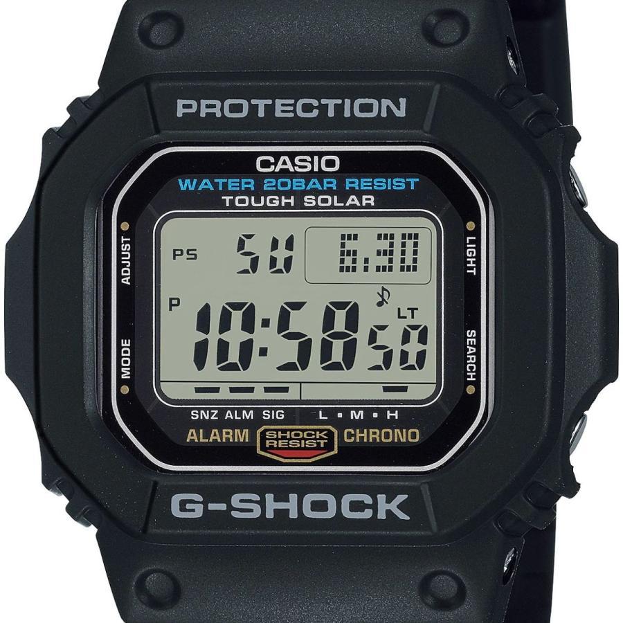 G-SHOCK ジーショック G-5600UE-1JF タフソーラー スクエアモデル フルオートLEDライト ブラック メンズ 腕時計 ウレタンバンド CASIO カシオ tokei-akashiya 02