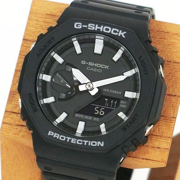 G-SHOCK ジーショック GA-2100-1AJF カーボンコアガード CarbonCore Guard 八角形フォルム ブラック×ホワイト 腕時計 CASIO カシオ|tokei-akashiya|02