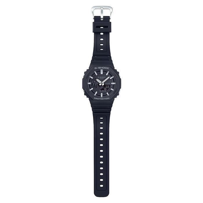 G-SHOCK ジーショック GA-2100-1AJF カーボンコアガード CarbonCore Guard 八角形フォルム ブラック×ホワイト 腕時計 CASIO カシオ|tokei-akashiya|03