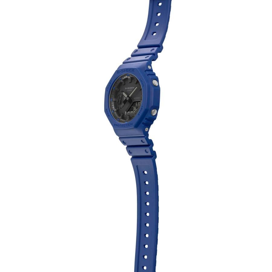 G-SHOCK ジーショック GA-2100-2AJF オクタゴン 八角形 カーボンコアガード構造 ブルー×ブラック メンズ 腕時計 CASIO カシオ|tokei-akashiya|04