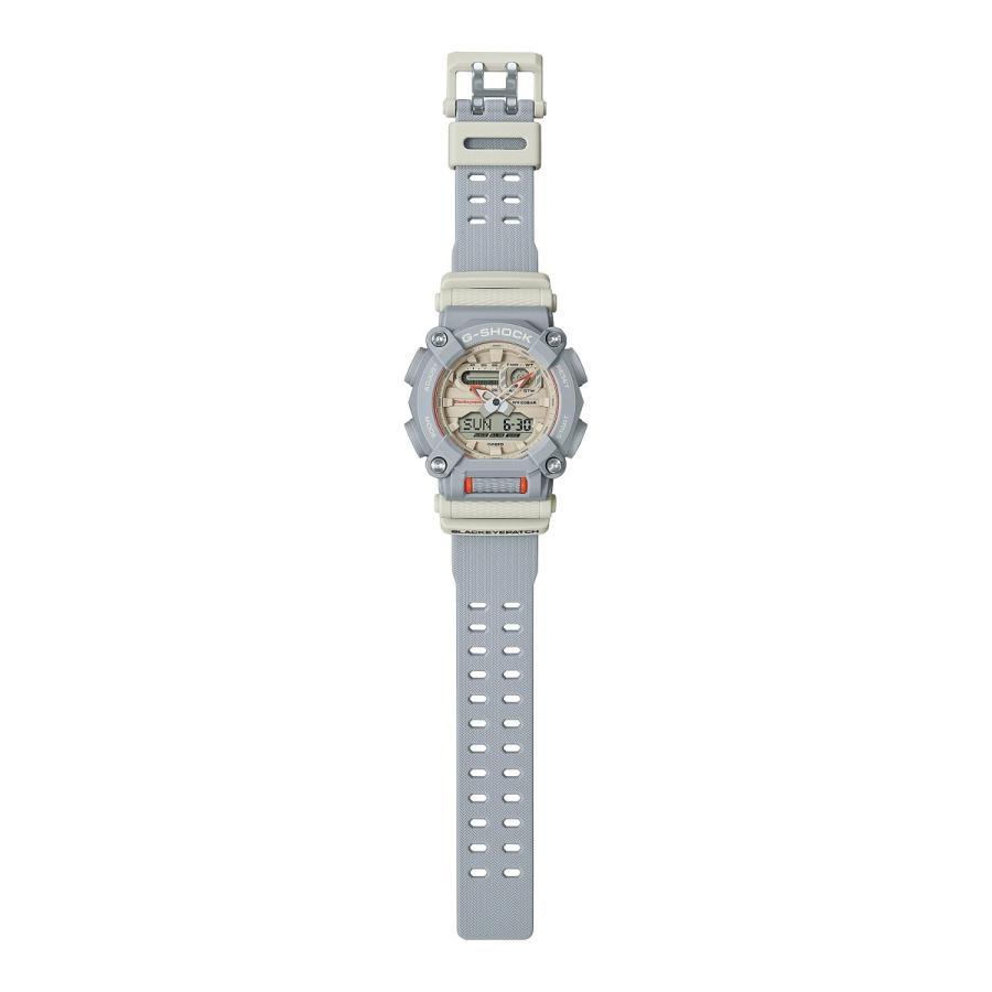 G-SHOCK ジーショック GA-900BEP-8AJR ブラックアイパッチ BlackEyePatch コラボモデル ライトグレー×ホワイト×オレンジ 腕時計 CASIO カシオ tokei-akashiya 03