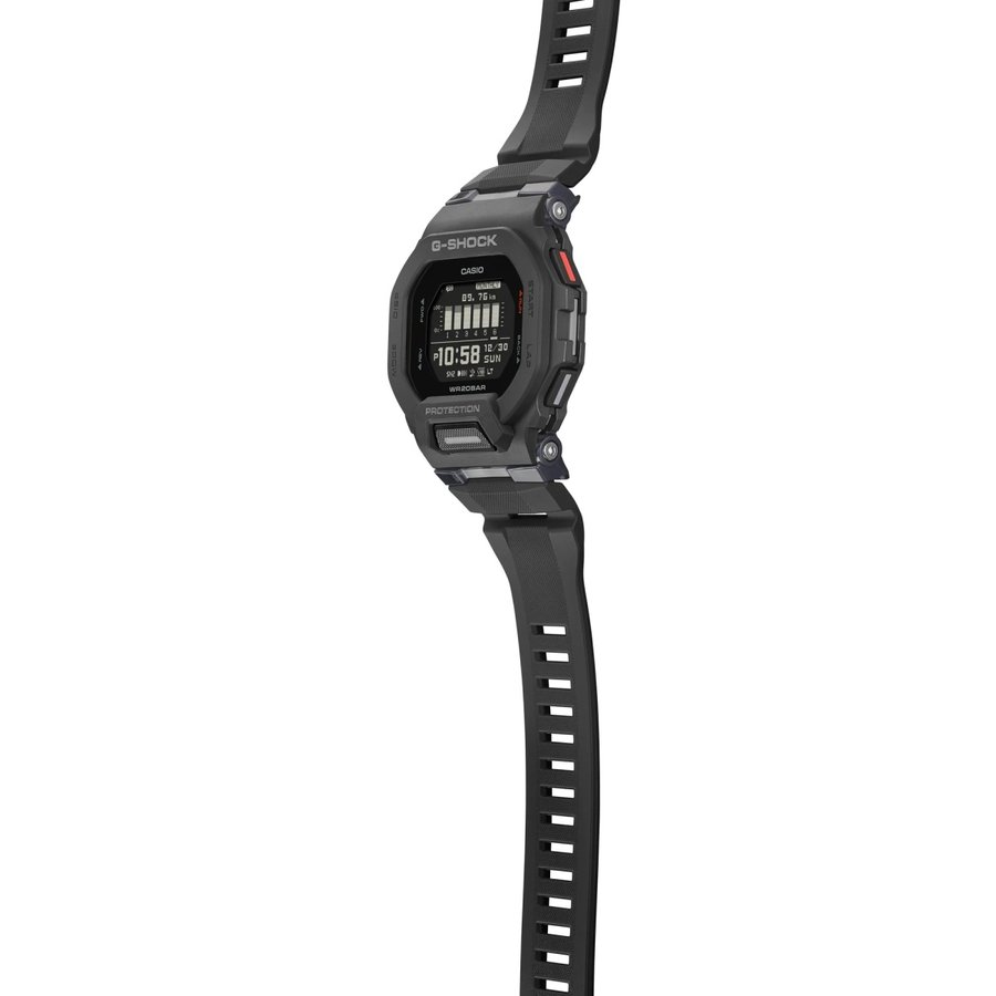 G-SHOCK ジーショック GBD-200-1JF ジー・スクワッド G-SQUAD ランニング・トレーニングウオッチ Bluetooth スマートフォン連携 腕時計 ブラック CASIO カシオ|tokei-akashiya|04