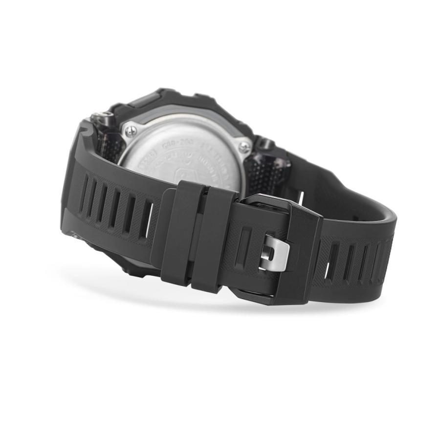 G-SHOCK ジーショック GBD-200-1JF ジー・スクワッド G-SQUAD ランニング・トレーニングウオッチ Bluetooth スマートフォン連携 腕時計 ブラック CASIO カシオ|tokei-akashiya|05