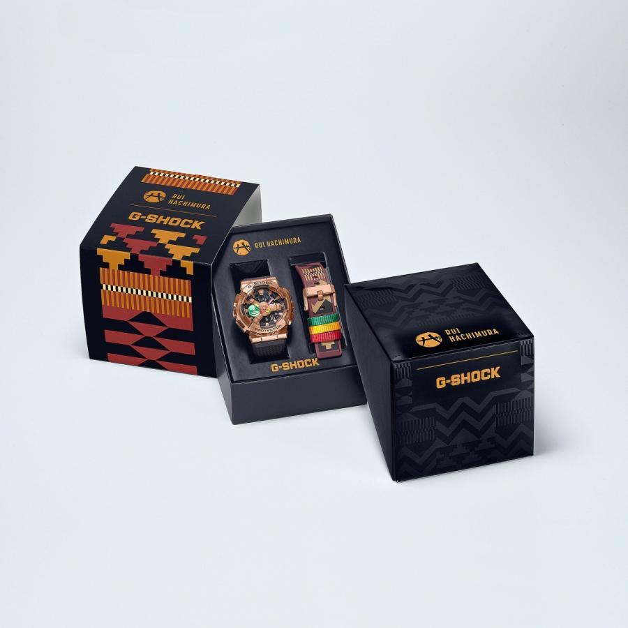 G-SHOCK ジーショック GM-110RH-1AJR 八村塁シグネイチャーモデル 第二弾 ステンレス製ベゼル 付け替え用バンド付属 ウレタンバンド 腕時計 CASIO カシオ|tokei-akashiya|10