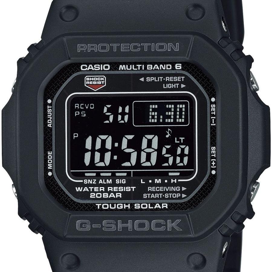 G-SHOCK ジーショック GW-M5610U-1BJF 電波ソーラー デジタル表示 ブラック 反転液晶 ウレタンバンド 腕時計 CASIO カシオ|tokei-akashiya|02