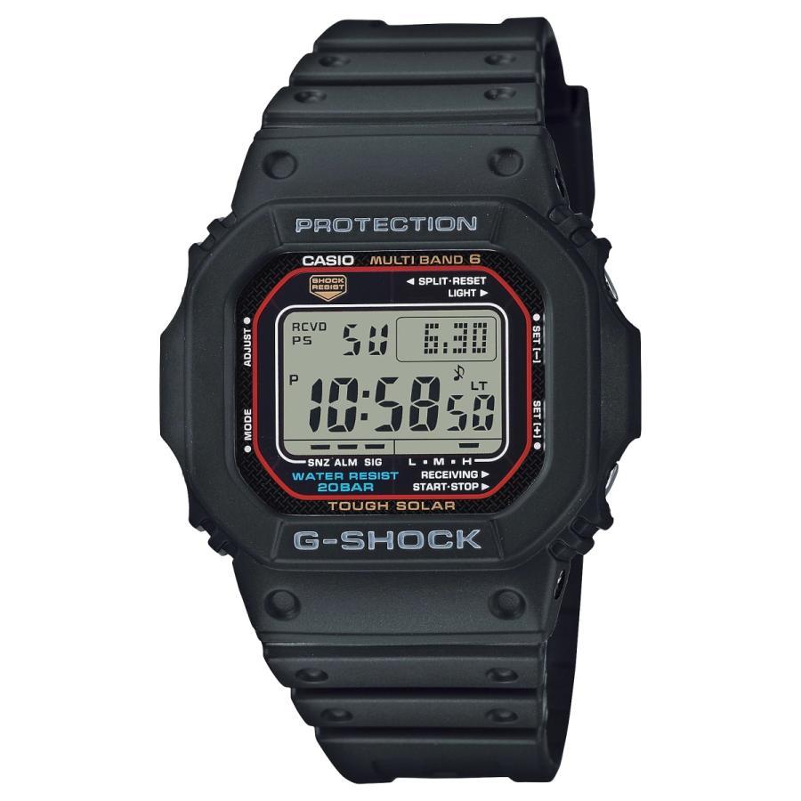 G-SHOCK ジーショック GW-M5610U-1JF 電波ソーラー デジタル表示 フルオートLEDライト ウレタンバンド ブラック 腕時計 CASIO カシオ tokei-akashiya