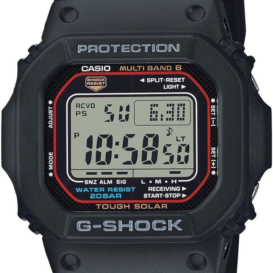 G-SHOCK ジーショック GW-M5610U-1JF 電波ソーラー デジタル表示 フルオートLEDライト ウレタンバンド ブラック 腕時計 CASIO カシオ tokei-akashiya 02