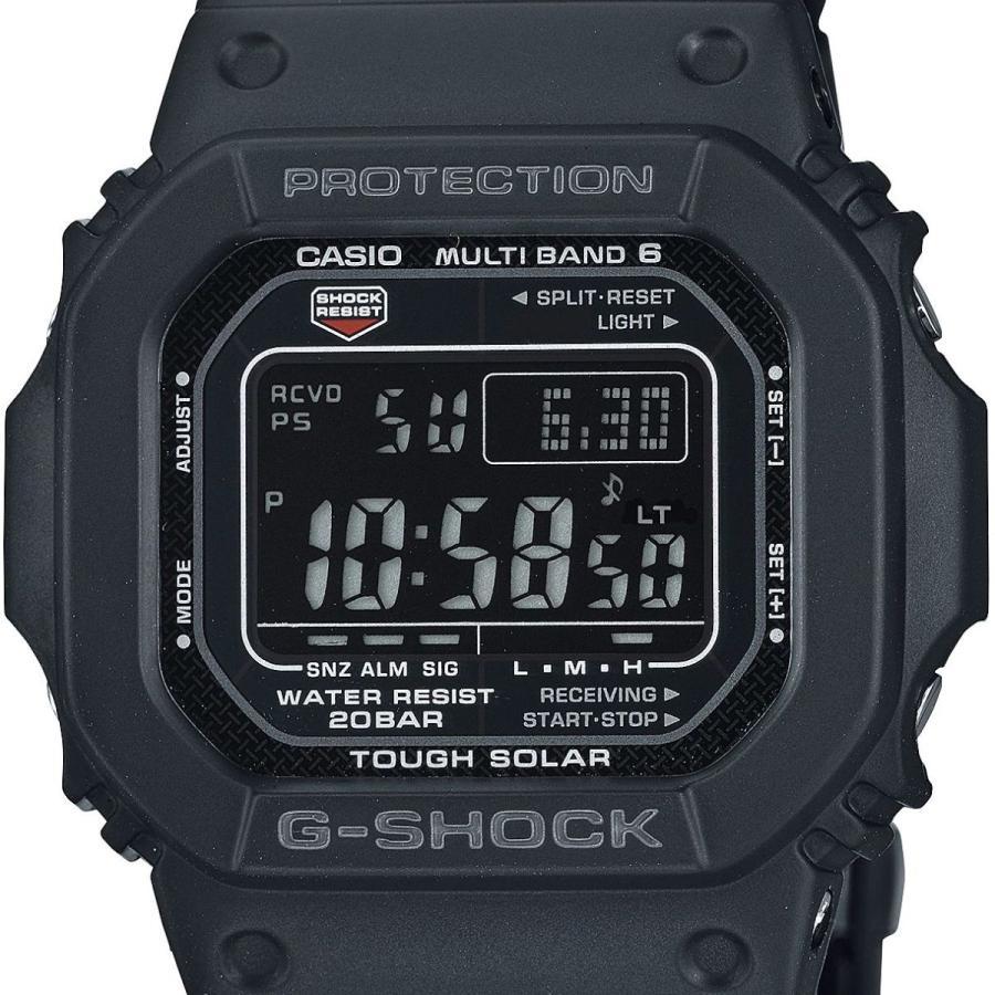 G-SHOCK ジーショック GW-M5610UBC-1JF 電波ソーラー デジタル表示 ブラック 反転液晶 コンポジットバンド 腕時計 CASIO カシオ tokei-akashiya 02
