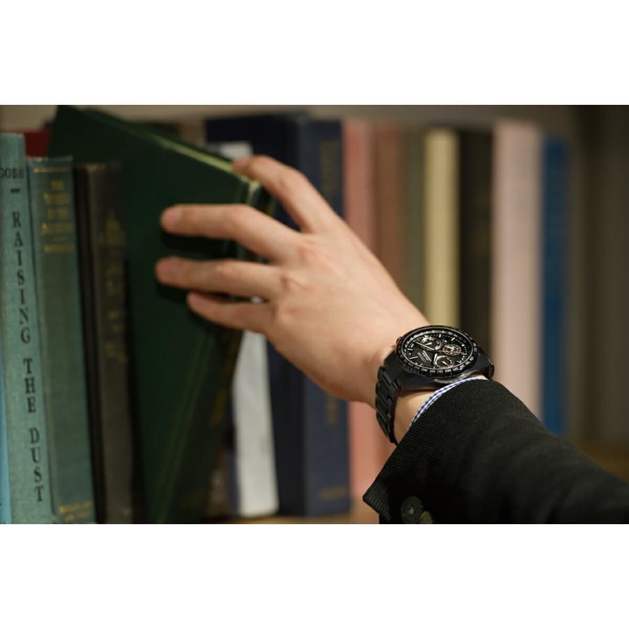 アテッサ ATTESA シチズン CITIZEN 正規メーカー延長保証付き CC4014-62E GPS衛星電波受信 ブラックチタンシリーズ 正規品 腕時計 tokeikan 06