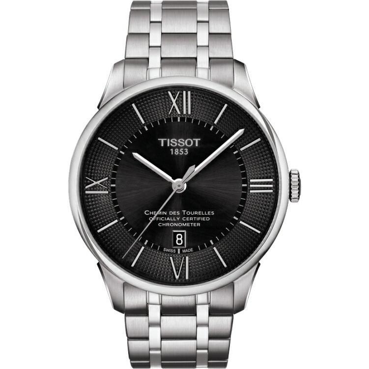 20c44bef6e 正規品 TISSOT ティソ T099.408.11.058.00 CHEMIN DES TOURELLES AUTOMATIC COSC 腕時計