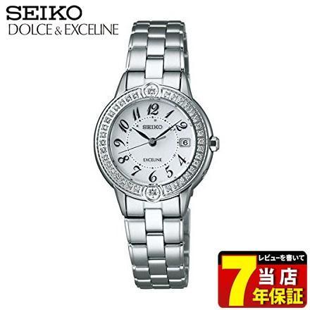 最安 SEIKO セイコー DOLCE&EXCELINE ドルチェ&エクセリーヌ SWCW071 ソーラー電波 腕時計レディース 国内正規品 レディース, CHAO チャオ 7b663dce