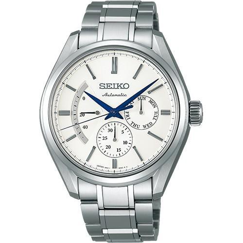 SEIKO PRESAGE プレサージュ SARW021 自動巻き腕時計パワーリザーブ・デイ・デイトの針表示|tokeiya-ito