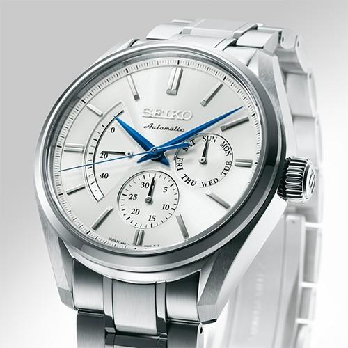SEIKO PRESAGE プレサージュ SARW021 自動巻き腕時計パワーリザーブ・デイ・デイトの針表示|tokeiya-ito|02