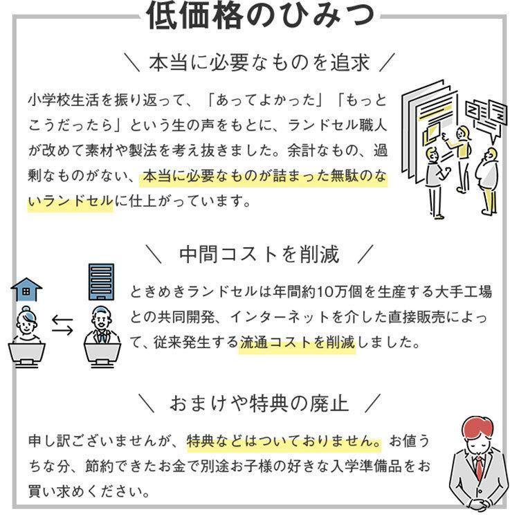 ランドセル 男の子 ランドセル 2022 クラシック ときめきランドセル A4フラットファイル対応 7年保証 30日返品保証 軽量 高品質 tokimeki-item 12