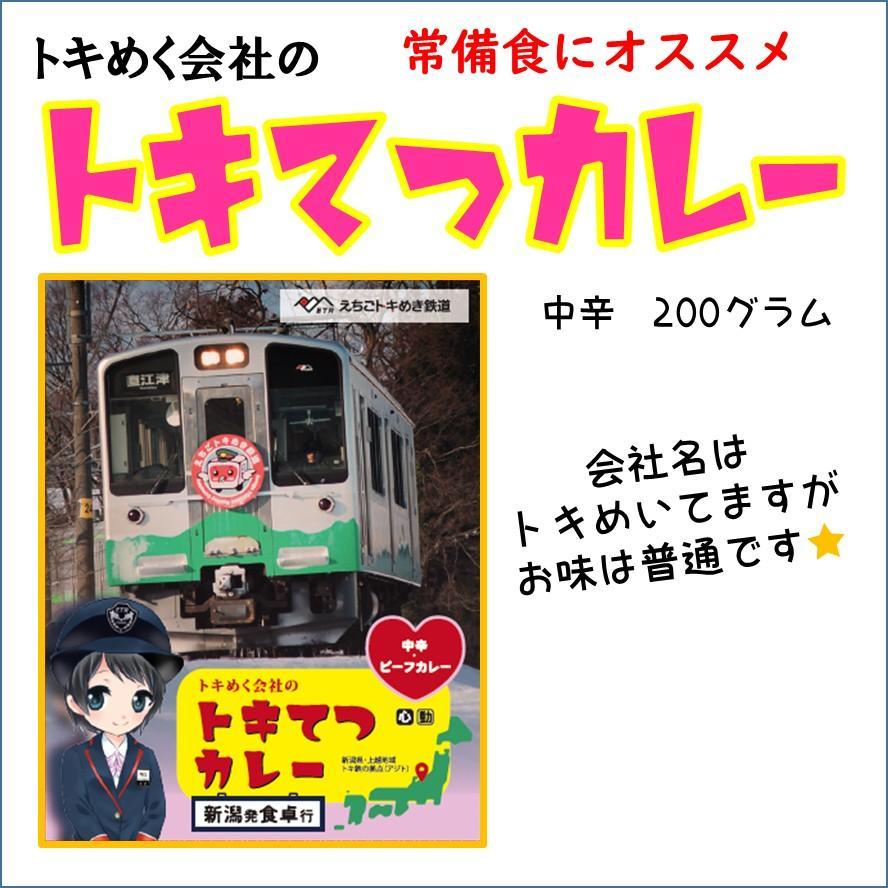 200g×4食 トキめく会社のトキてつカレー 長期常温保存OK |tokitetsu-official|02