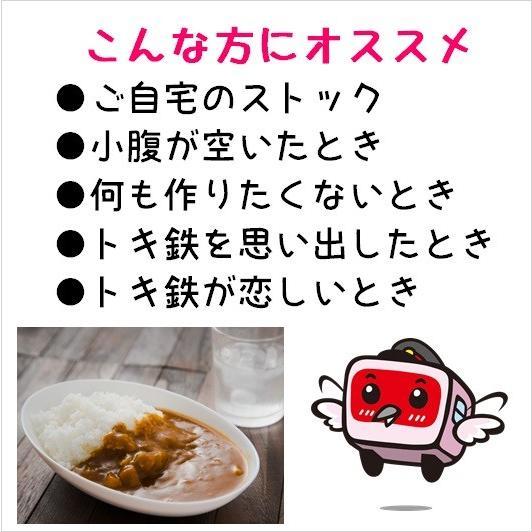 200g×4食 トキめく会社のトキてつカレー 長期常温保存OK |tokitetsu-official|06