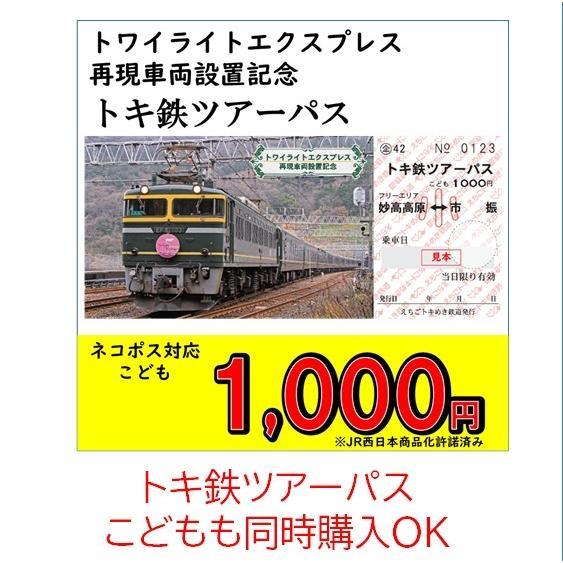 トキ鉄ツアーパス 大人 トワイライトエクスプレス再現車両設置記念 tokitetsu-official 07