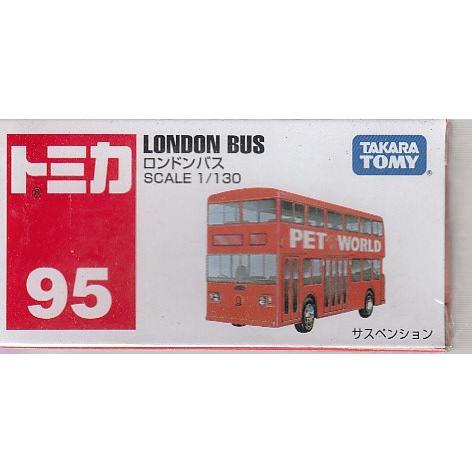 TAKARA TOMY TOMICA 95 London Bus 562597