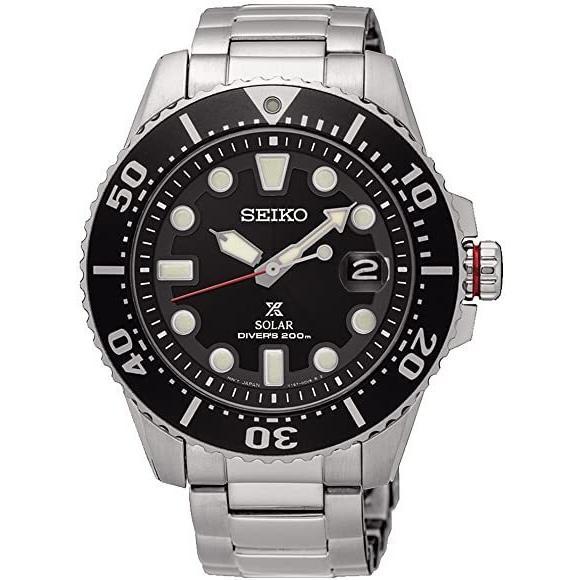 【セール】SEIKO(セイコー) SNE551P1(SNE437P1同型)メンズ腕時計 プロスペックス ソーラーダイバーズウォッチ ブラック 200m防水 tokizen