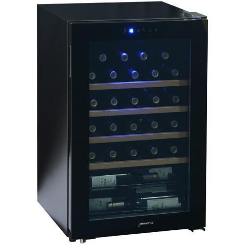 【長期保証付】デバイスタイル CD-30W コンプレッサー方式ワインセラー 30本収納