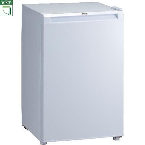 【設置+リサイクル】ハイアール JF-NU82A-W(ホワイト) 1ドア冷凍庫 右開き 82L