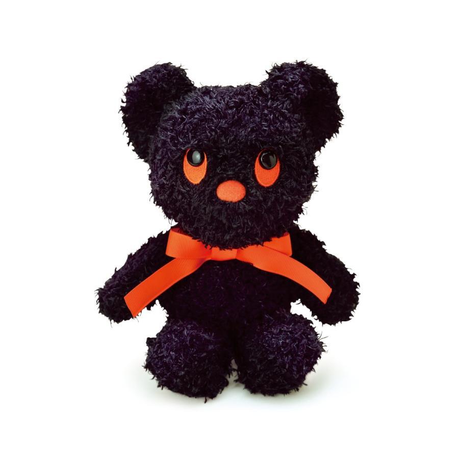 「ブルーナ」黒 BEAR ぬいぐるみ S(6個入)