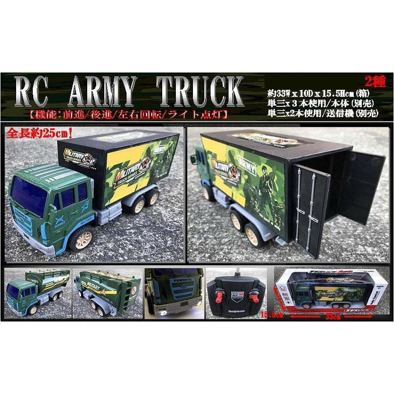 「ラジコン」RC ARMY TRUCK(24個入)